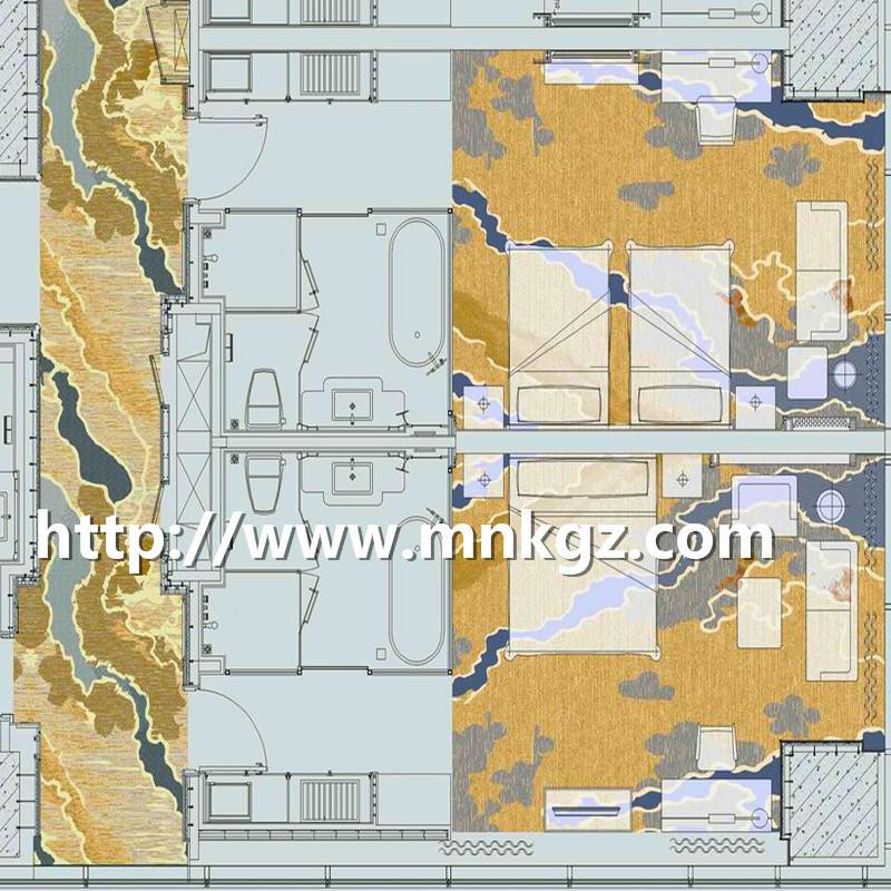 北欧风格地毯阿克明走道地毯