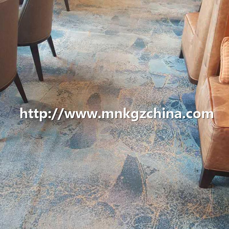 定制图案阿克明地毯酒店餐厅满铺毯