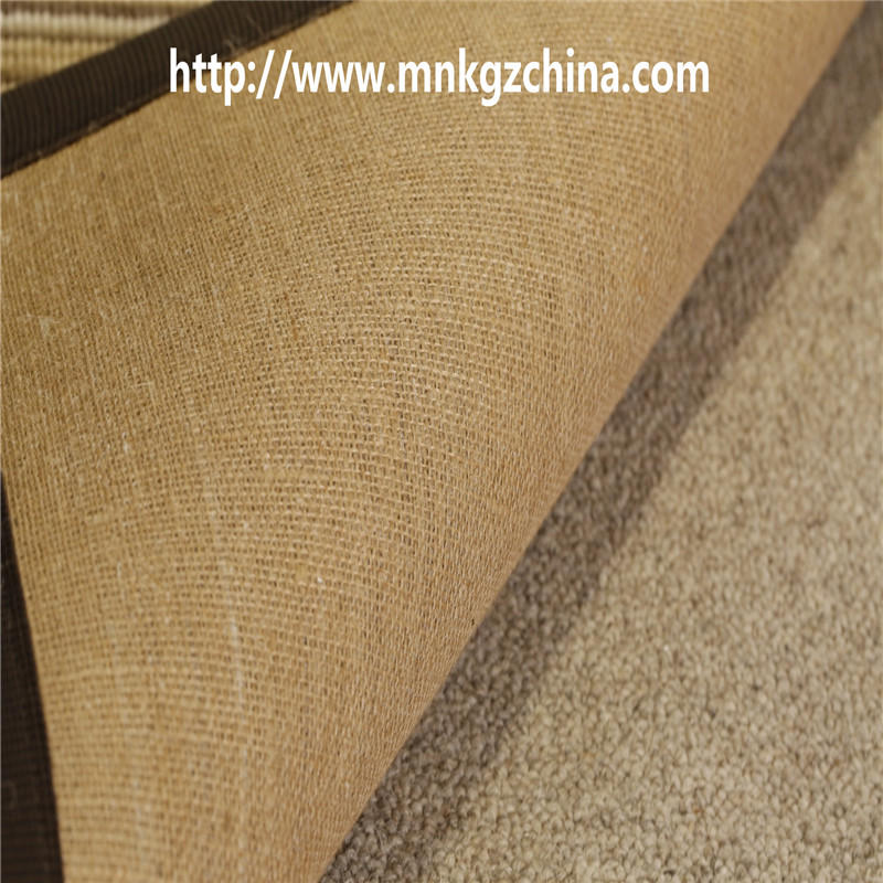 彩色条纹簇绒地毯