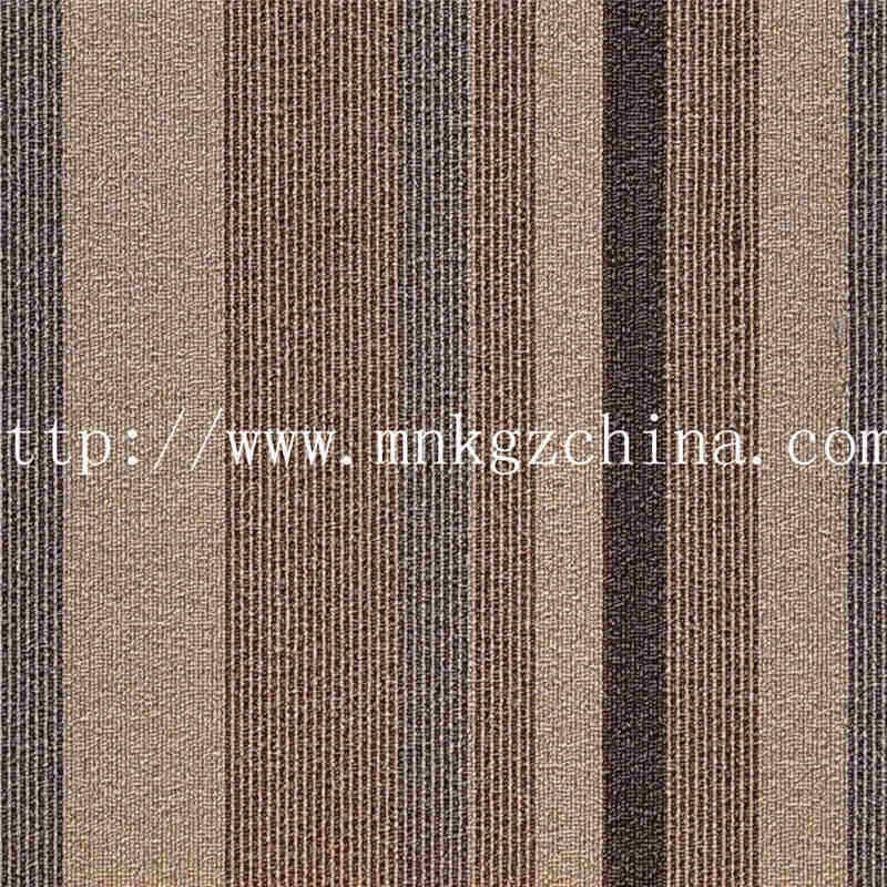 花色条纹方块地毯